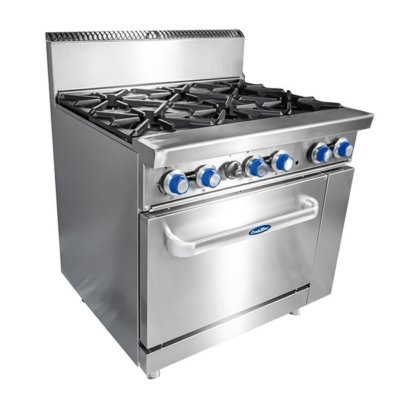 CookRite 6 Burner with Oven W914 x D790 x H1165