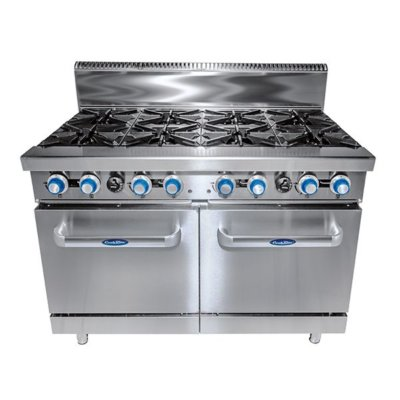 CookRite 8 Burner with Oven W1219 x D790 x H1165
