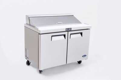 Atosa 2 Door Sandwich Prep Table Refrigerator 1225 mm