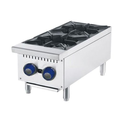 CookRite 2 Burner Cook Tops W310 x D700 x H333