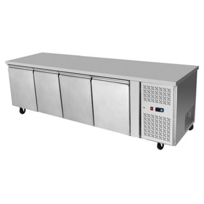 Atosa Underbench Four Door Cooling Table 2230 mm