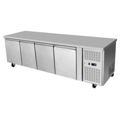 Atosa Underbench Four Door Freezer Table 2230 mm