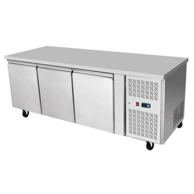 Atosa Underbench Three Door Cooling Table 1795 mm