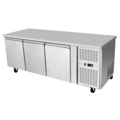 Atosa Underbench Three Door Freezer Table 1795 mm