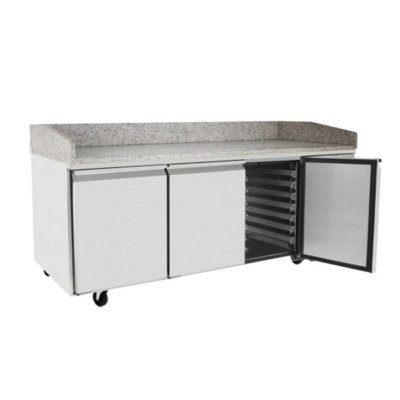 Atosa 3 Door Refrigerated Pizza Table 2010 mm