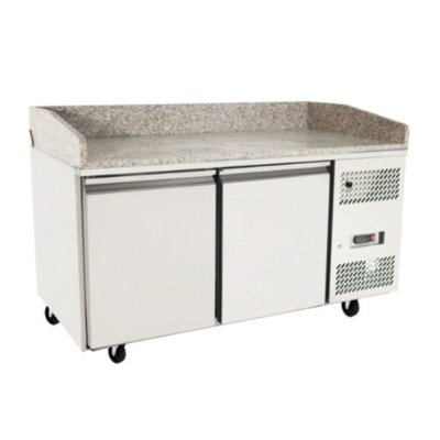 Atosa 2 Door Refrigerated Pizza Table 1510 mm