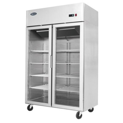 Atosa Top Mounted 2 Door Refrigerator Showcase 1314 mm
