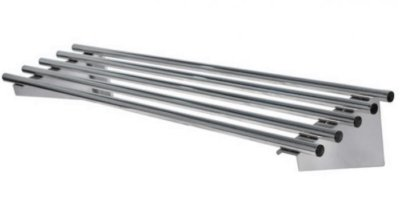 MixRite Pipe Wall Shelves-W2400 x D300 x H255