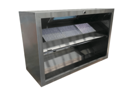 SimcoHood Asian Type SHA Series Exhaust Canopy-3400 x 1150