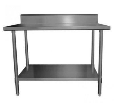MixRite Work Bench with Splash-back-W600 x D600 x H900