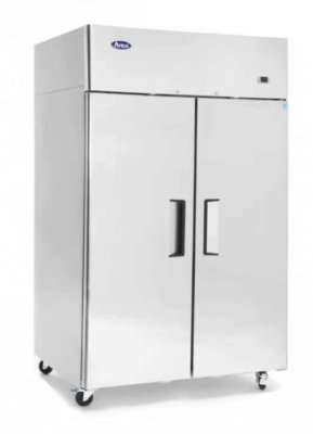 Atosa Fridge / Freezer Double Door Top Mounted
