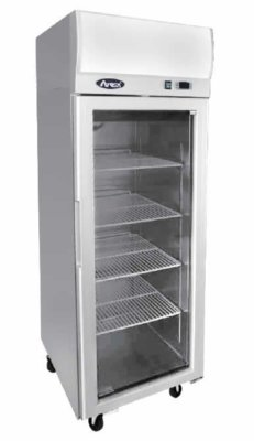 Atosa Top Mounted Single Door Glass Fridge