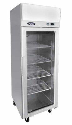Atosa Top Mounted Single Door Glass Freezer