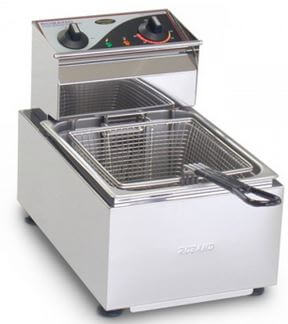 Roband Single Pan Bench Top Fryer 8Lt – 3.45kW. 15A