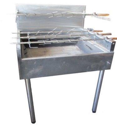 Charcoal Chicken Rotisserie – 240v; 10amp