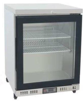 Atosa Glass Door Chiller Fridge Cabinet – 84 litres