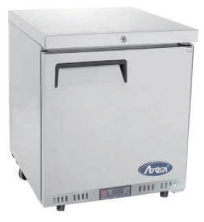 Atosa Solid Door Chiller Freezer Cabinet  – 84 litres