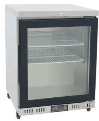 Atosa Glass Door Chiller Freezer Cabinet – 84 litres