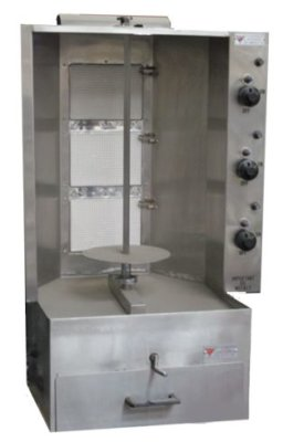 Gyro Gas Souvlaki – 3 Burner NEW