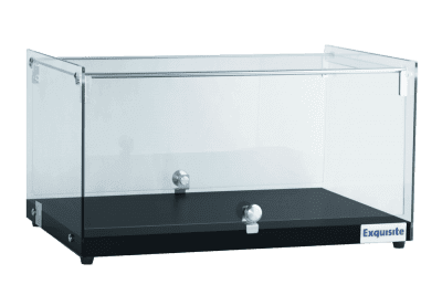CD35 – Square Glass Ambient Counter Top Display Cabinet