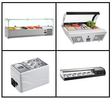S15: Counter Top Food Preparation (Refrigerated)