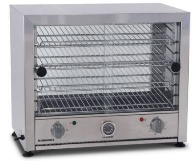 Pie warmer, glass doors single side – 100 Pie
