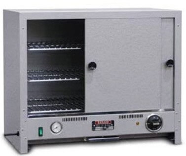 Pie warmer, stainless steel doors and back – 100 Pie