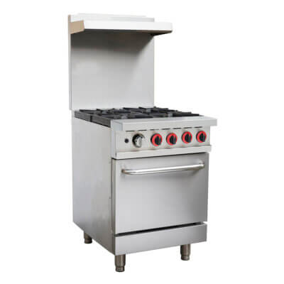 GBS4T Gasmax 4 Burner With Oven Flame Failure