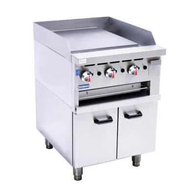 GGS-24 Gas Griddle and Gas Toaster with Cabinet
