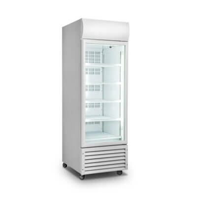 Single Glass Door Colourbond Upright Drink Fridge – LG-370GT