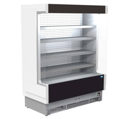 Open Chiller with 4 Shelves – TDVC80-SL-187