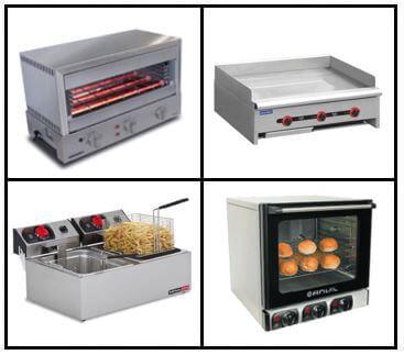 S21: Cooking Equipment - Bench Top