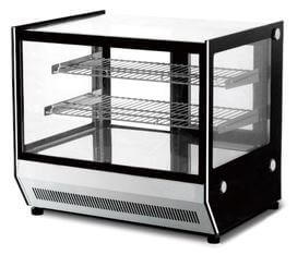 Counter Top Square Glass Hot Food Display – GN-660HRT