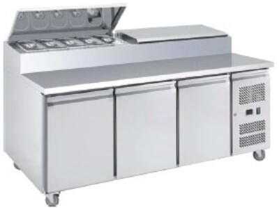S/S Three Door Sandwich Counter – XSS7C18S3V
