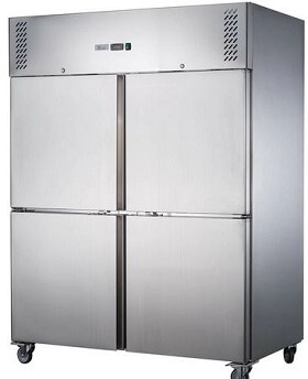 S/S Four Door Upright Fridge – XURC1200S2V