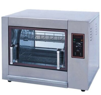 Compact Basket Rotisserie – 8 to 12 Birds – 240V; 4.8Kw; 20A