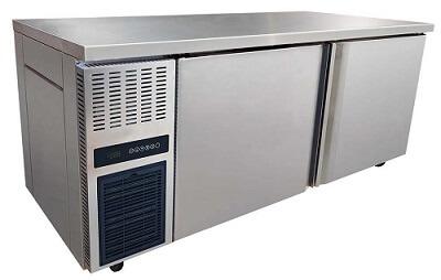 Freezer Under Bar Storage/Work Bench - WIDE DOOR OPENING