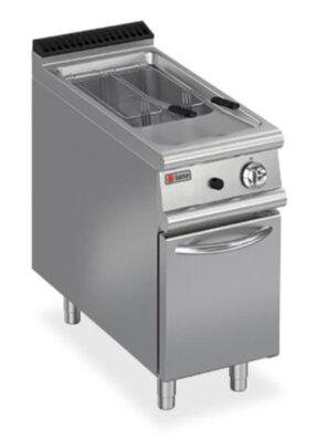 BARON 15L Single Basin Gas Deep Fryer With Piezo Ignition