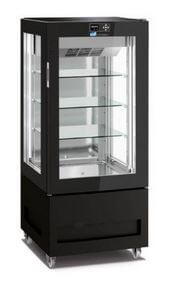Bench Tops Gelato Fridge/Freezer Display Black – TEMP RANGE +5°C TO -20°C