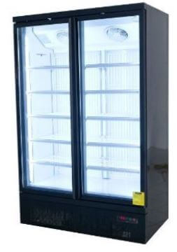 Upright Display Fridge 2 Doors 810L 1250mm