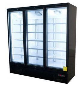 Upright Display Fridge 3 Doors 1260L 1875mm
