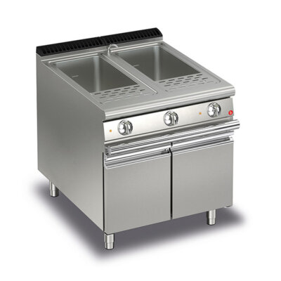 BARON 26+26L Double Basin Electric Pasta Cooker