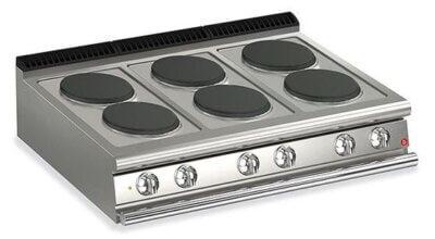 BARON 6 Burner Electric Cook Top