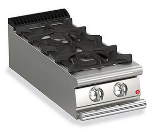 BARON 2 Burner Gas Cook Top
