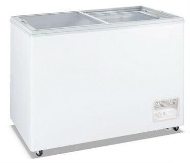 Heavy Duty Chest Freezer with Glass Sliding Lids – WD-520F