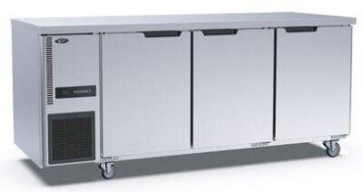 Stainless Steel Triple Door Workbench Freezer – TL1800BT-3D