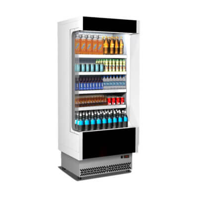 Open Chiller with 4 Shelves – TDVC60-CA-100