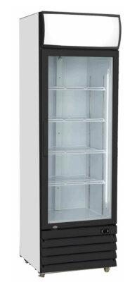 Single Glass Door Black Colourbond Upright Drink Fridge – LG-540BG